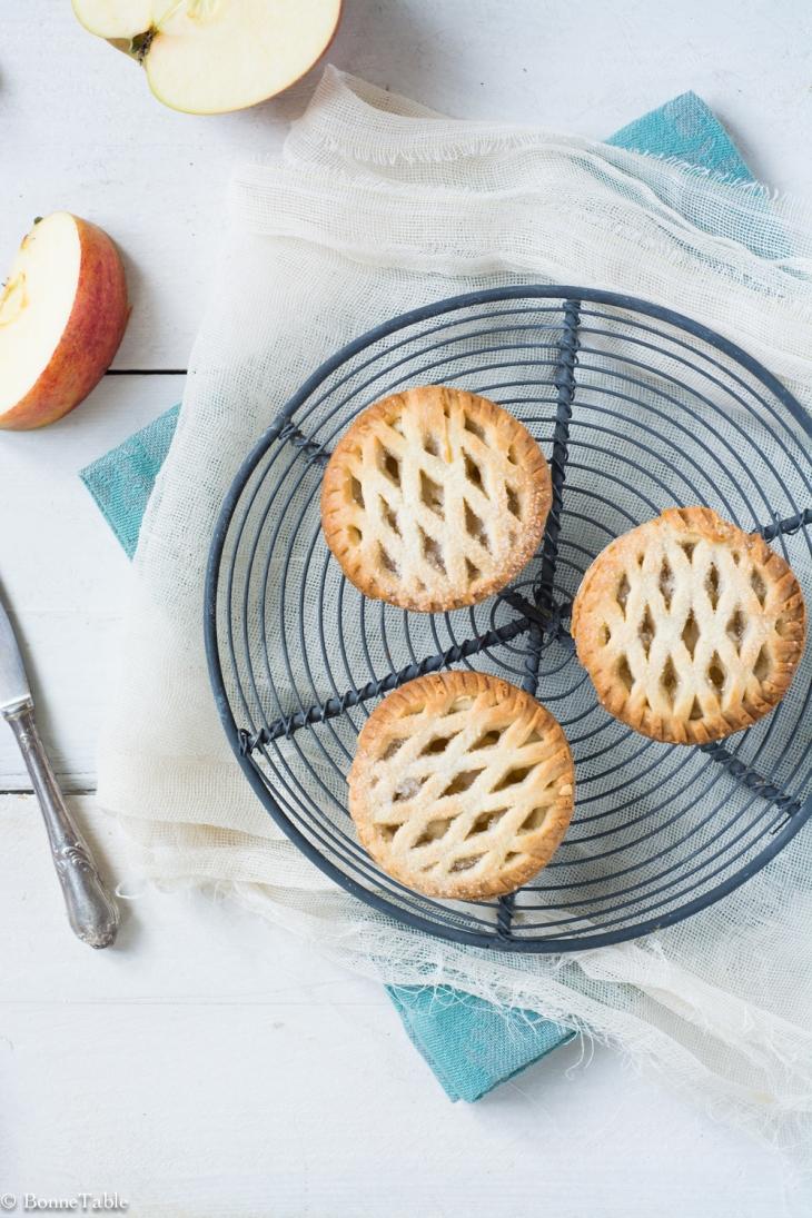 Bramley apple pies